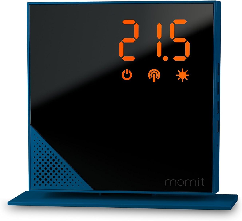 Momit BMHTBV1EU Termostato Inteligente Azul