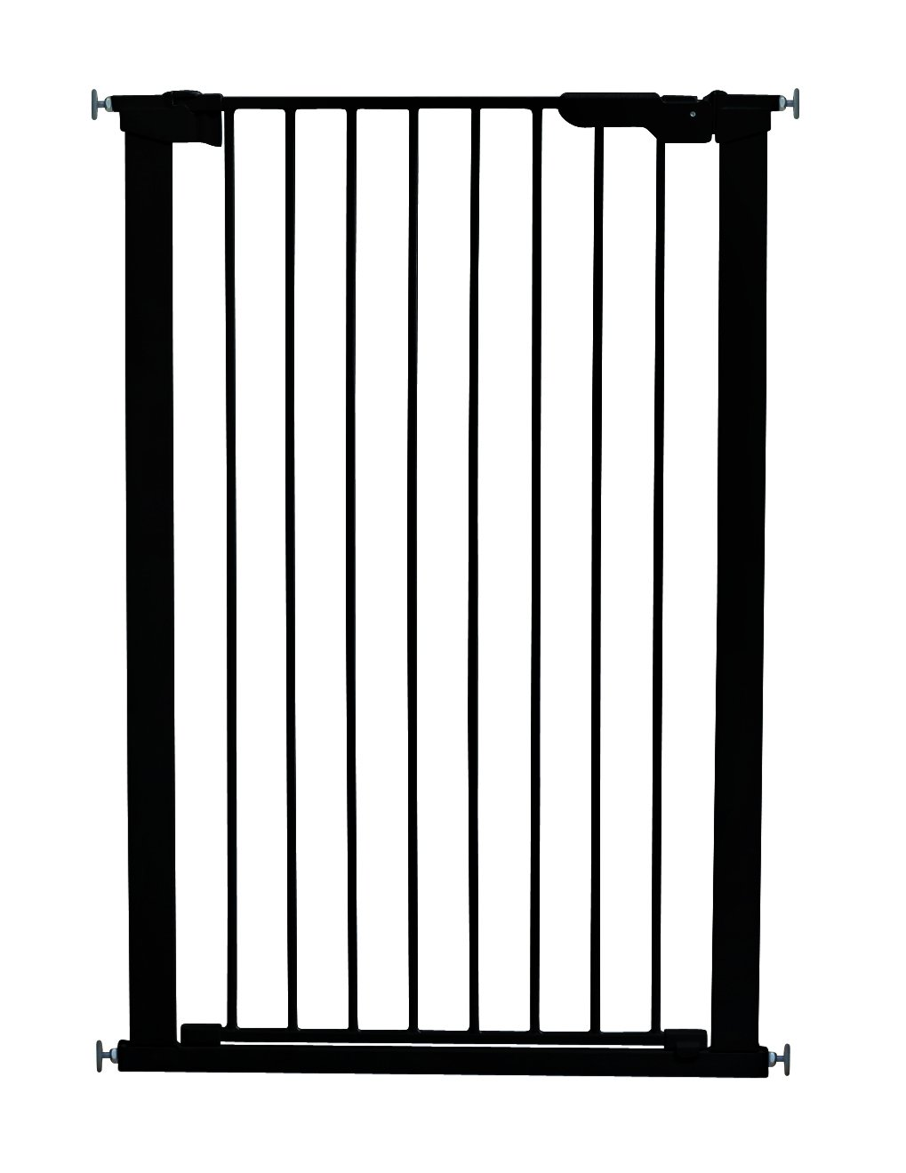 BabyDan 106cm Extra Tall Pressure fit Pet Gate (Black) 50916-2690-10-75