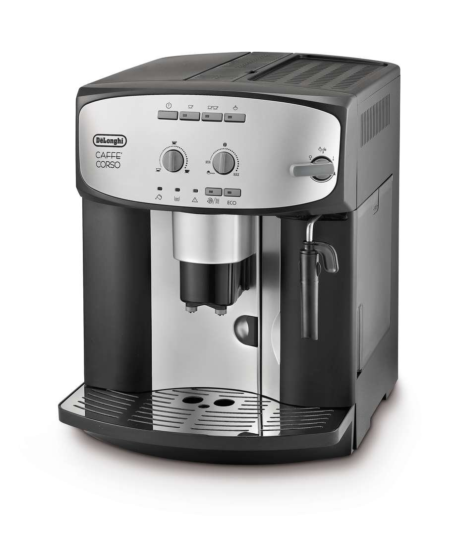 De'Longhi Caffe' Corso ESAM2800.SB Bean to Cup, Silver and Black Delonghi R132212012