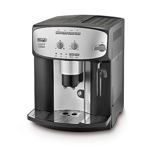 De'Longhi Caffe' Corso ESAM2800.SB Bean to Cup, Silver and Black