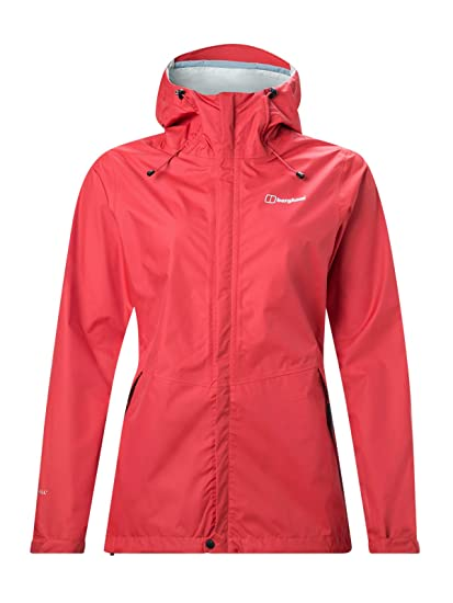 berghaus Deluge Vented Chaqueta Impermeable, Mujer: Amazon ...