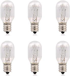 "15 Watt Himalayan Salt Lamps Bulbs and Night lights Replacement Light bulbs lamps 2.15"" - fits E12 Socket Candelabra Base night light night lamp bulbs"
