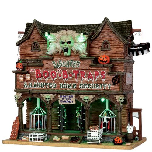 Lemax Spooky Town Banshee's Boo-B-Traps with Adaptor # 55912 by Lemax