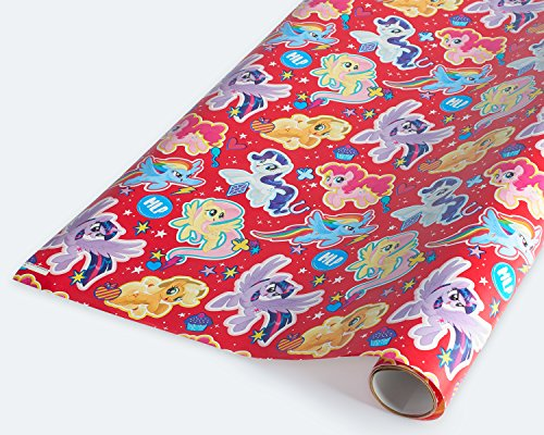 American Greetings My Little Pony Wrapping Paper, 2.5 ft. x 9 -