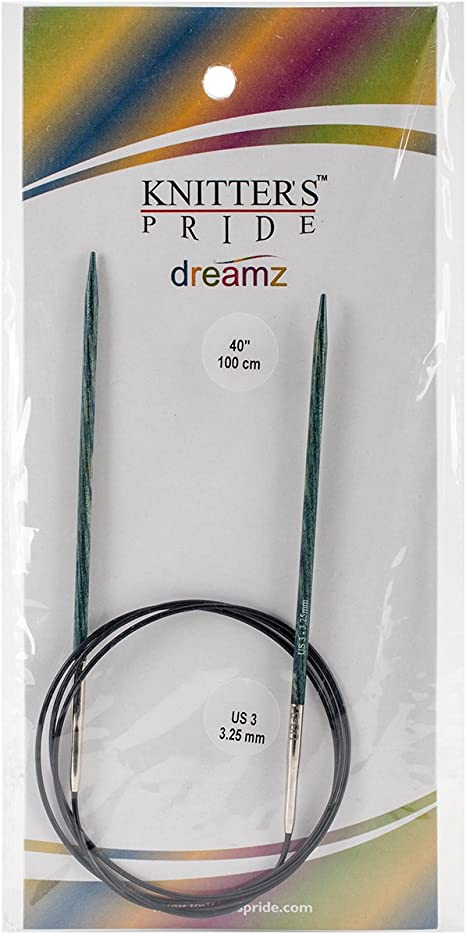 Knitters Pride 2//2.75mm Dreamz Fixed Circular Needles 40