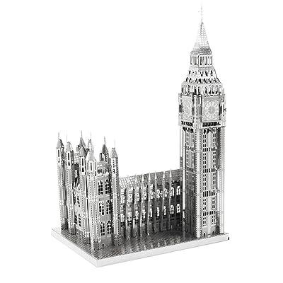Fascinations ICONX Big Ben 3D Metal Model Kit: Toys & Games