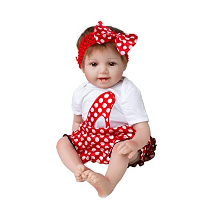 Yukeyy 22 Pulgadas 55cm Nacido Reborn Bebes Muñeco de Simulación ...