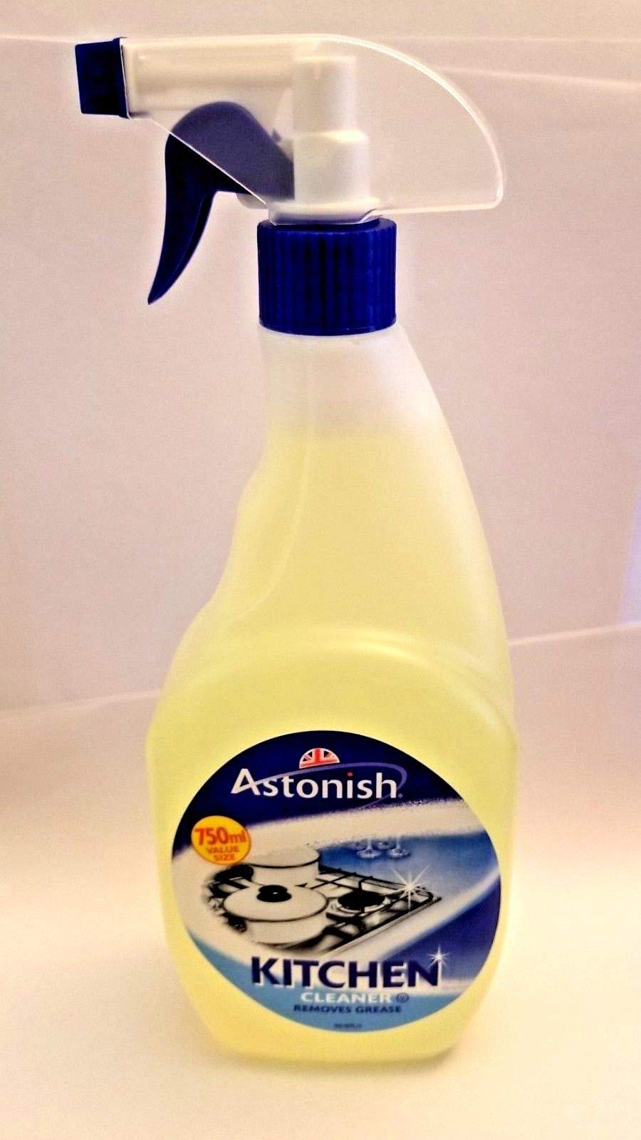 3-PACK Astonish Kitchen Cleaner 750ML by Astonish | Removes Grease | As Seen on TV by Astonish