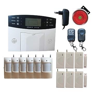 Sistema De Seguridad Profesional Para Casa Negocio Inalambrico Alarma Inteligent