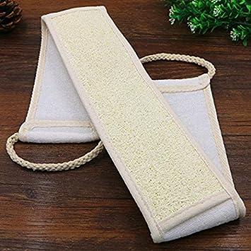 GOOTRADES 1 Stk Luffa und Peeling Handtuch f/ür K/örper und R/ücken Zuf/ällige Farbe mit 2 Stk Duschbad Handschuhe