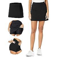 TAIPOVE Women's Active Athletic Skorts Lightweight Tennis Skirt Sports Skort Golf Skirts Shorts with Inner Pocket