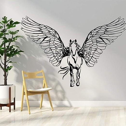 ganlanshu Vinilo Adhesivo de Pared diseño Arte Dormitorio ...