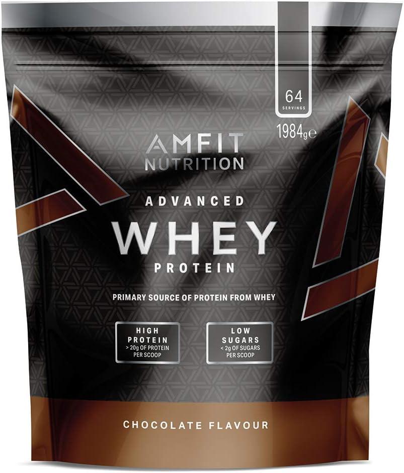 Amazon Brand - Advanced Whey Chocolate 1980 g: Amazon ...