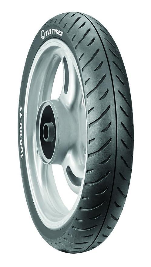 TVS Tyres ATT230F 100/80-17 52P Tubeless Type Bike Tyre, Front