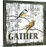greatBIGcanvas Gallery-Wrapped Canvas entitled Gather Home by Carol Robinson 30''x30''