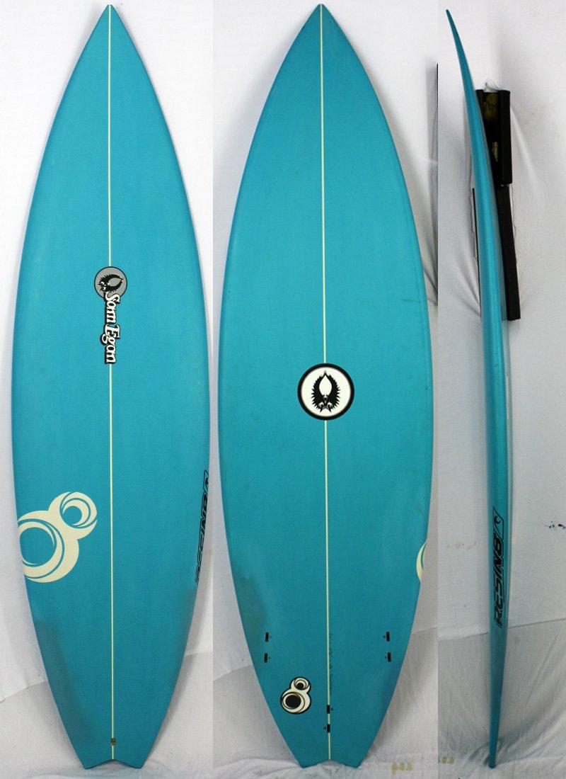 EGAN(イーガン)RESIN8モデル サーフボード [Blue] 6'0