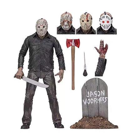 Amazon.com: Bodan Neca Figura de acción Viernes 13 Jason ...