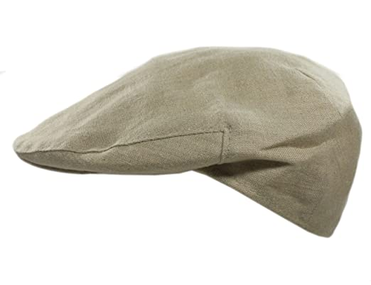 81649ad0dde Biddy Murphy Men€™s Linen Hat Lightweight Cream Made in Ireland Large   Amazon.in  Clothing   Accessories