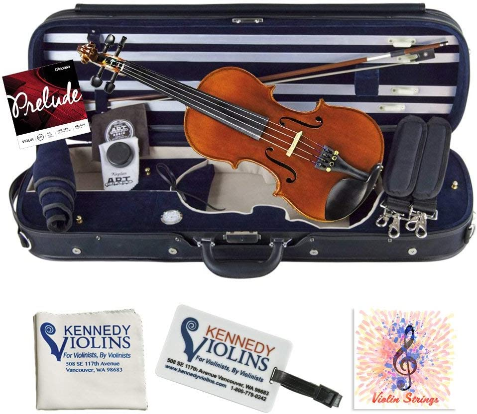 Louis Carpini G2 Violin Outfit Clearance 3/4 Size By Kennedy Violins