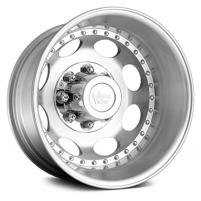 Amazon Com Vision Wheels 181 Hauler Dualie Machined 19 5x6 75 8x165