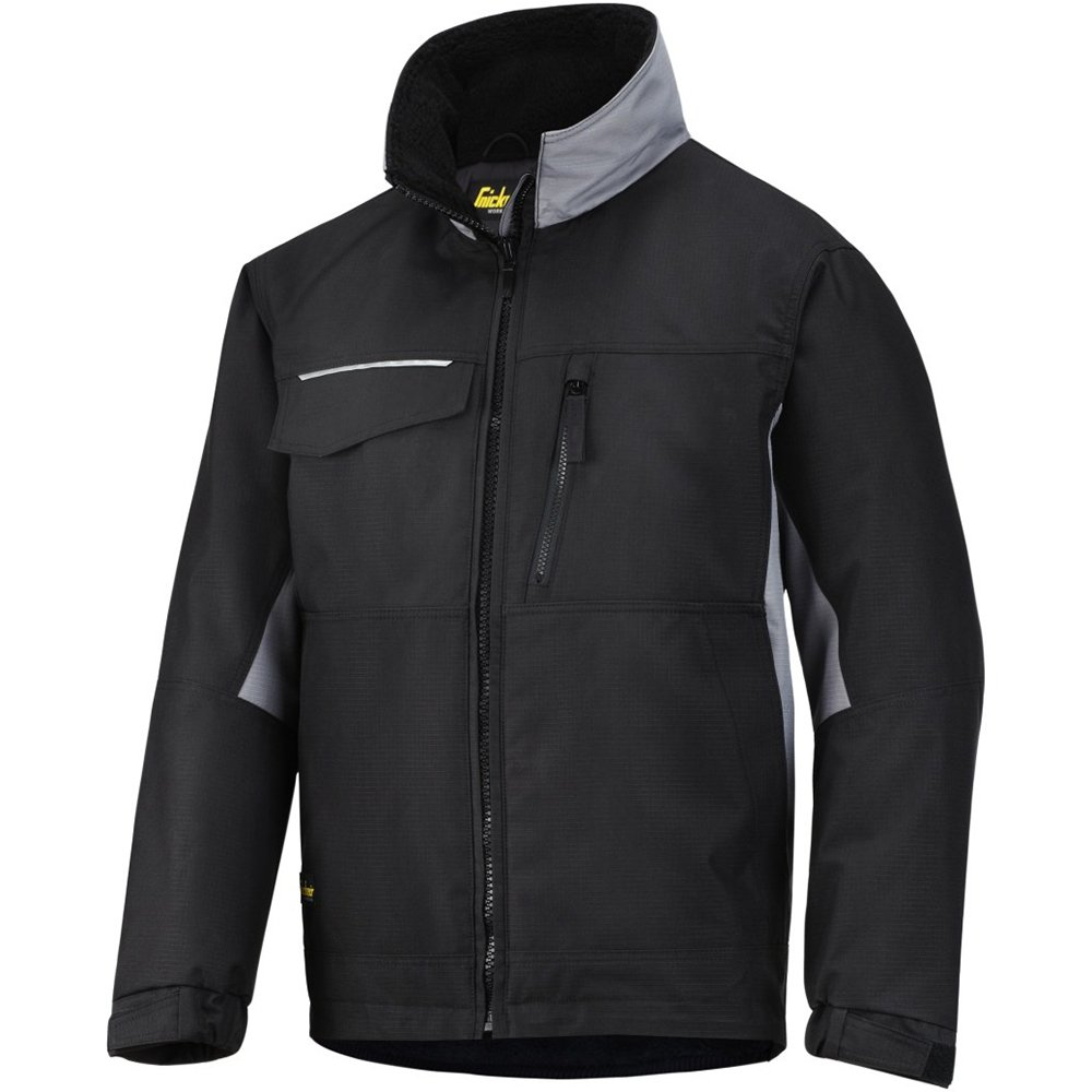 Snickers 11280904004 Craftsmen/'s Winter Jacket Size S in White-Black