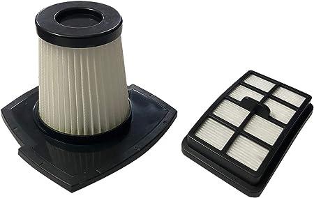 ECO-DE Set de 2 filtros HEPA Recambios para Aspirador Absolut Vertical ECO-350 Filtro Cilindrico + Filtro Rectangular: Amazon.es: Hogar