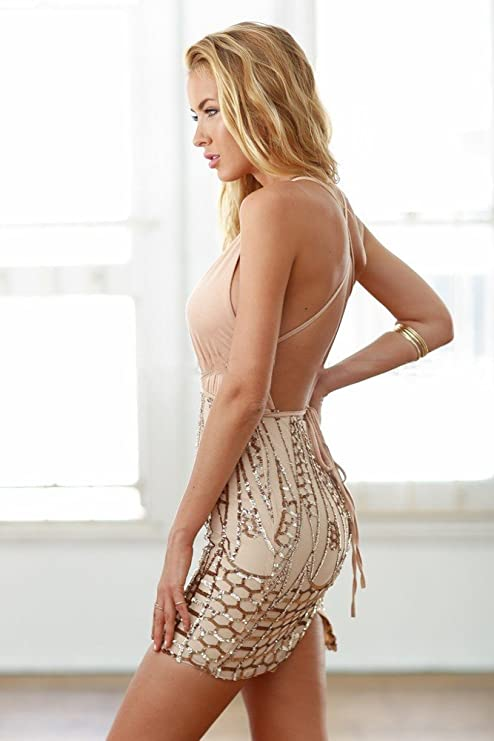 Vestidos De Fiesta Sexys Cortos Ropa De Moda Para Mujer y Noche Elegante Casuales (M) ve0052 at Amazon Womens Clothing store: