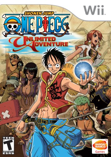 One Piece Unlimited Adventure Nintendo Wii product image