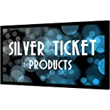 "STR-169135-G Silver Ticket 4K Ultra HD Ready Cinema Format (6 Piece Fixed Frame) Projector Screen (16:9, 135"", Grey Material)"