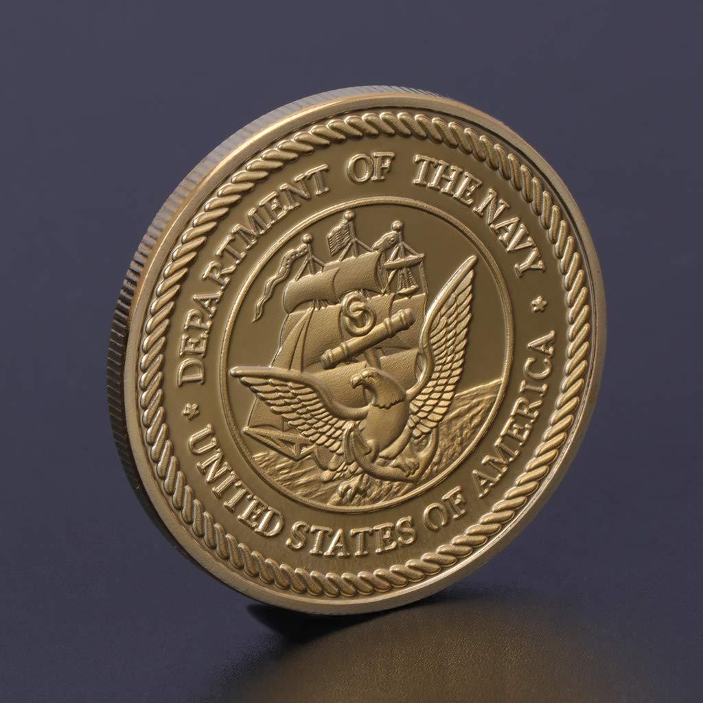 Usted Merece tenerla coleccionistas de Monedas AIYIYOO Moneda Conmemorativa Delta Force Equipo de la Armada Americana Colecci/ón de Regalos de Artes Recuerdo Disfrute de la alegr/ía de la colecci/ón