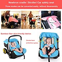 Fashion Travel System 3 in 1 (Cradle + Baby Stroller + Basket) , Lightweight ...