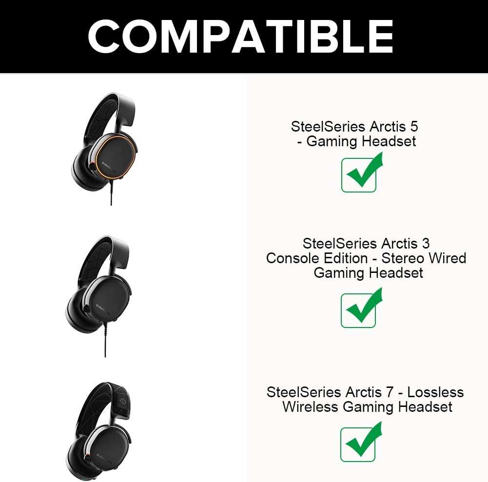 1.2m//3.9fts Black Audio Cable Xingsiyue Replacement Cable for SteelSeries Arctis 3//5//7//Pro//Pro Wireless Gaming Headsets