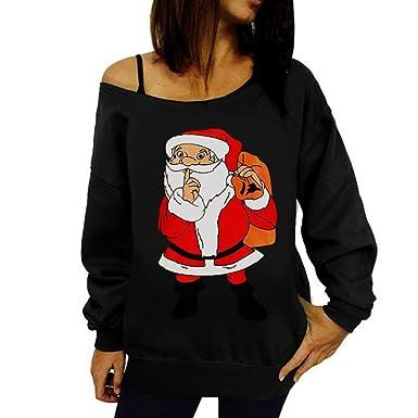 Christmas Tops Womens