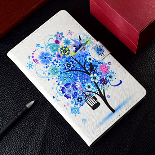 Foldable Leather Ultrathin Case 10 8 and Leather Huawei Cover for Holster Stent Skull PU Closure MediaPad M5 Flip Card Case of Pattern LMFULM® Flower Function Slot Leather Inch Magnetic 2 Color Bookstyle Co wzOvx