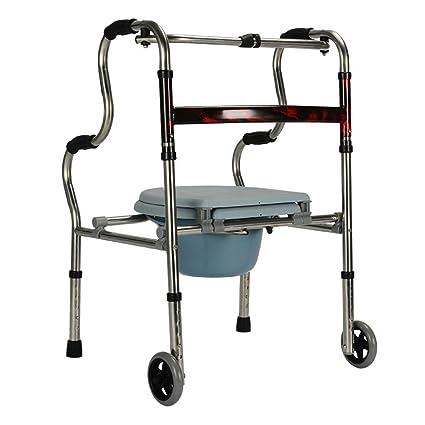 HJHY® ayudas para caminar, andador de silla de tocador de ...