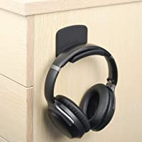 Neetto HS907 Headphone Hanger Holder Wall Mount, Headset Hook Under Desk, Universal Stand for Sennheiser, Sony, Bose…