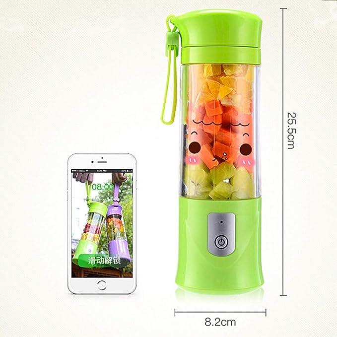 MMM Electric Juice Cup Mini Juicer Máquina batidora de ...