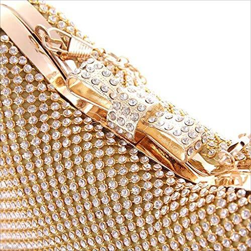 Sera Pochette Lylyss Silver Di Diamanti Borsa Alla Moda Banchetti silver Pacchetto Da Donna Per Giapponese wqqZvptE