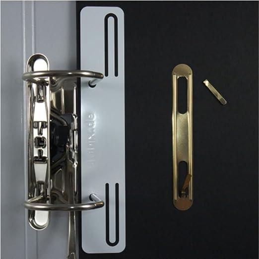 Heftstreifen metall  10 stabix - der Heftstreifen aus Metall bzw. Stahlblech - in weiß ...