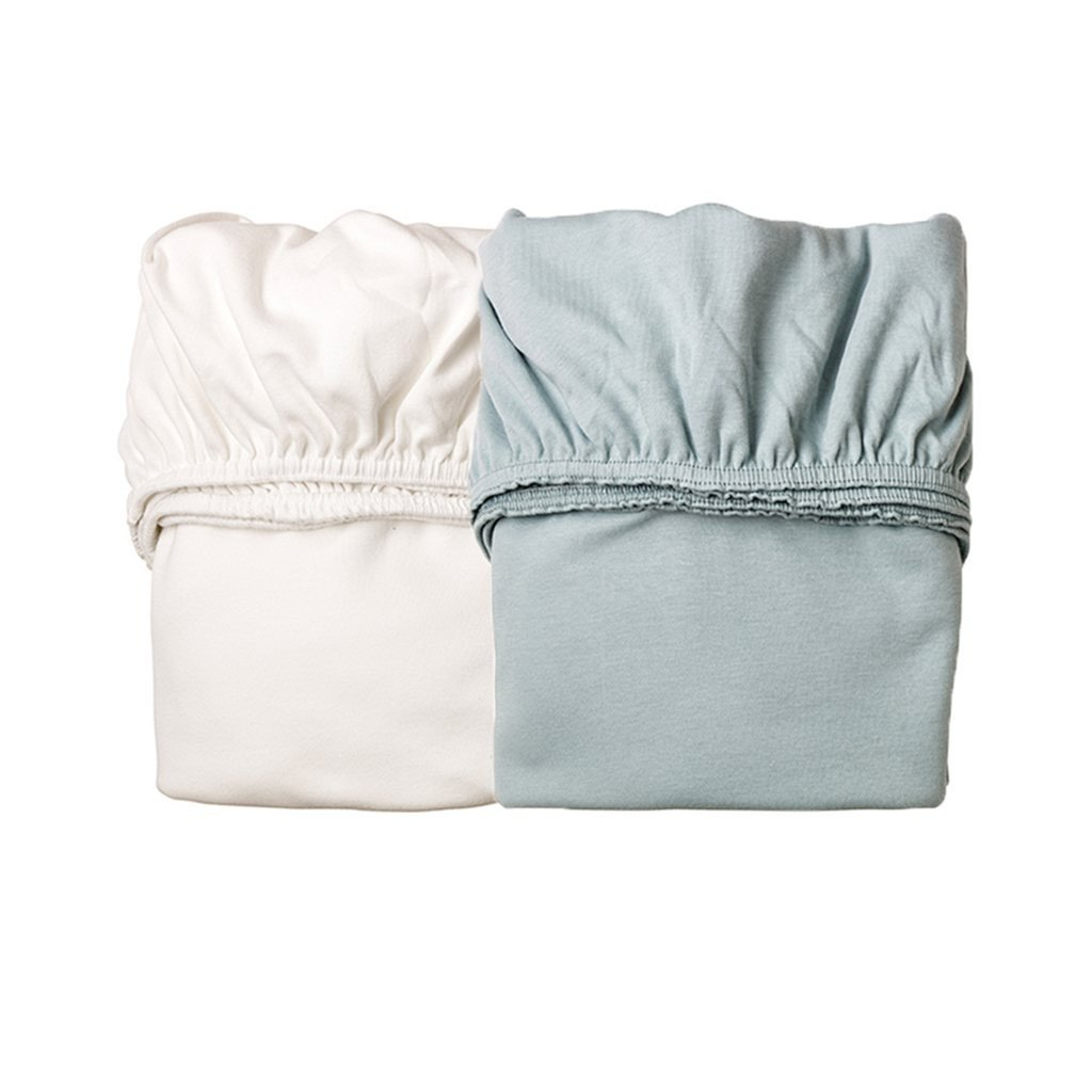 1x 1x Soft Pink Pack of 2/The Leander Baby Cradle Sheet Fitted Cot Bed Sheets White Pack of