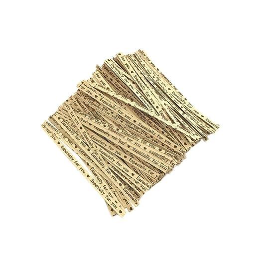 700 presillas de Phoney Twistband en espiral, reutilizables ...