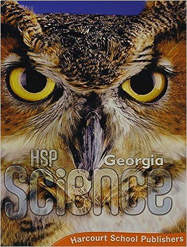 Harcourt School Publishers Science Se Grade 5 2009