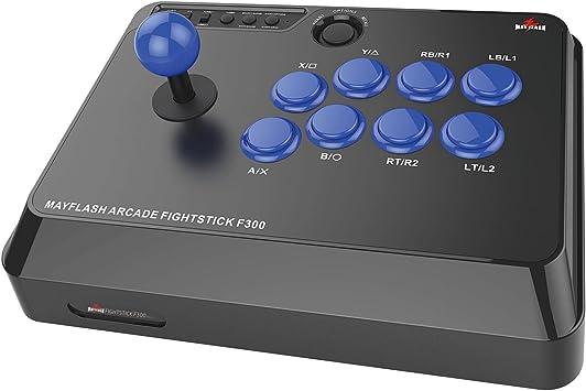 Mayflash Arcade Joystick Fightstick de F300 para PS4 PS3 XBOX UNA XBOX 360 PC: Amazon.es: Electrónica