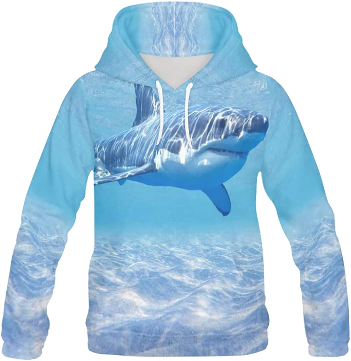 INTERESTPRINT Custom Stylish Teenager's Pullover Hoodies Sweatshirt