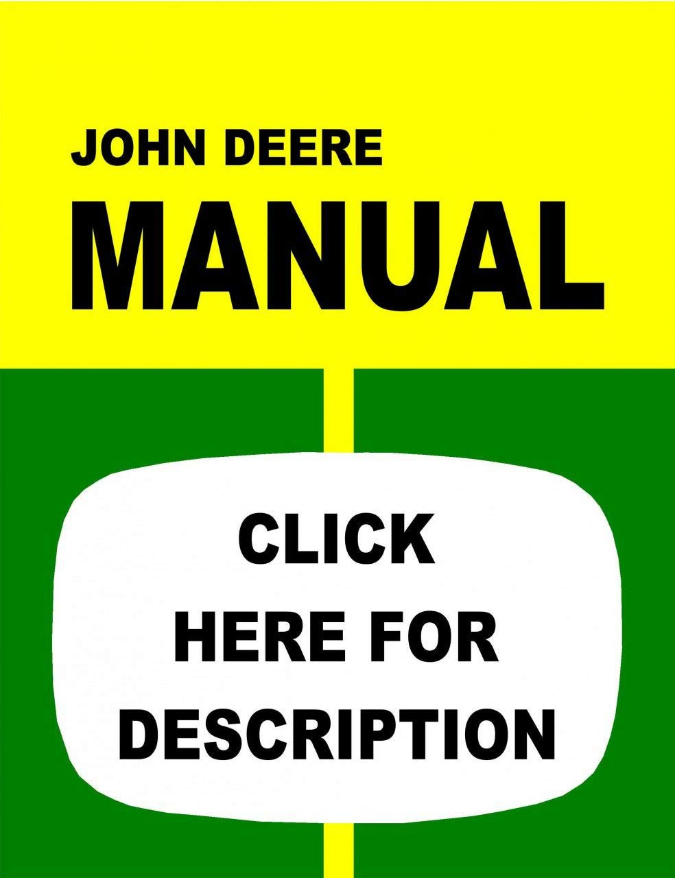 Amazon.com: John Deere 1520 Tractor Service Manual (IT Shop ... on john deere 1530 lights, john deere 1530 parts, john deere 1530 steering, new holland 1530 wiring diagram,