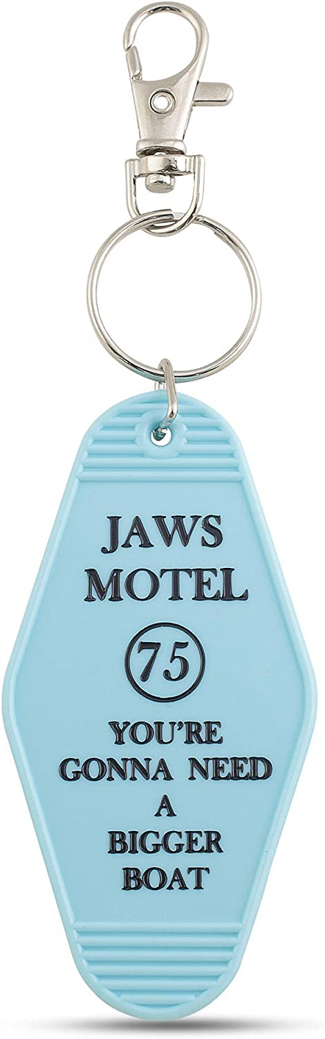 """Amazon.com: Jaws Motel Keychain - """"You're Gonna Need A Bigger Boat"""":  Clothing"""