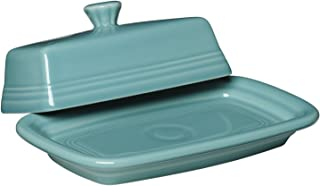 product image for Fiesta Covered Butter Dish, X-Large, Turquoise