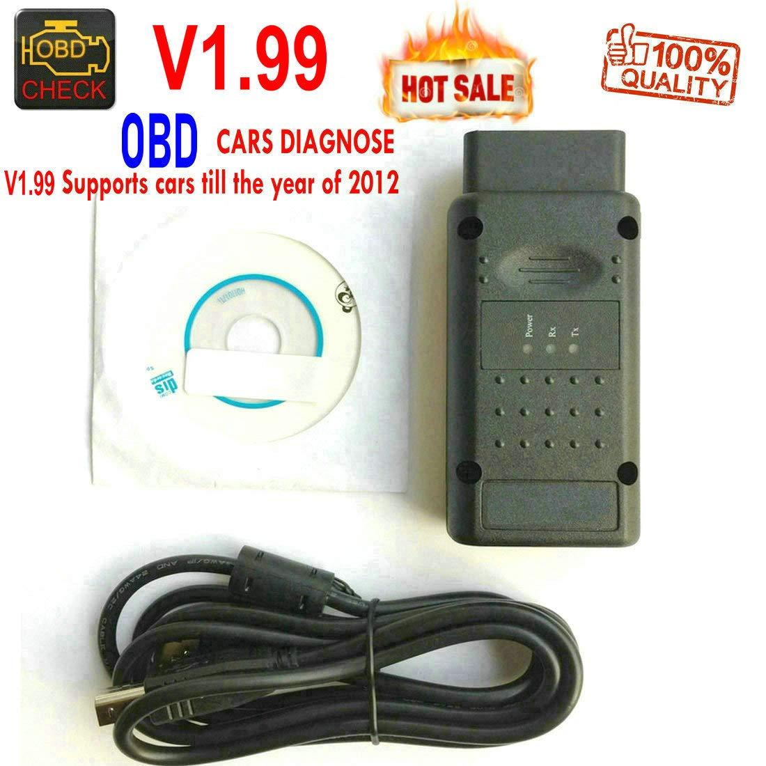 HanrainTool OBD V1.99 OBDII Interface de Diagnostic Scanner OBD2 Lecteur de Code pour Opel Cars –  HR-Tool ®