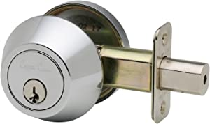 Copper Creek DB2410PS Single Cylinder Deadbolt, Polished Stainless