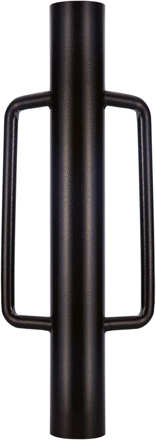 Urban Deco Fence Post Driver with Handle Steel Head Fence Post Driver 24 Inch Post Driver/Rammer Brown Hand Post Pounder